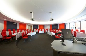 Lecture theatre_red